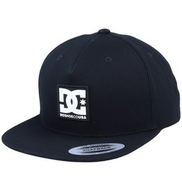 DC SHOES CO. DC - SNAP DRIPP HAT - BLK