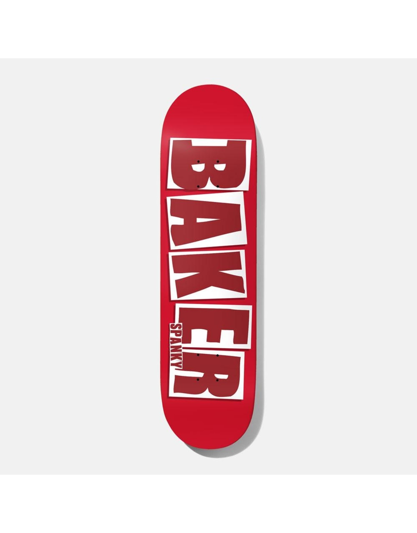 BAKER BAKER - SPANKY BRAND NAME - 8.25 - RED