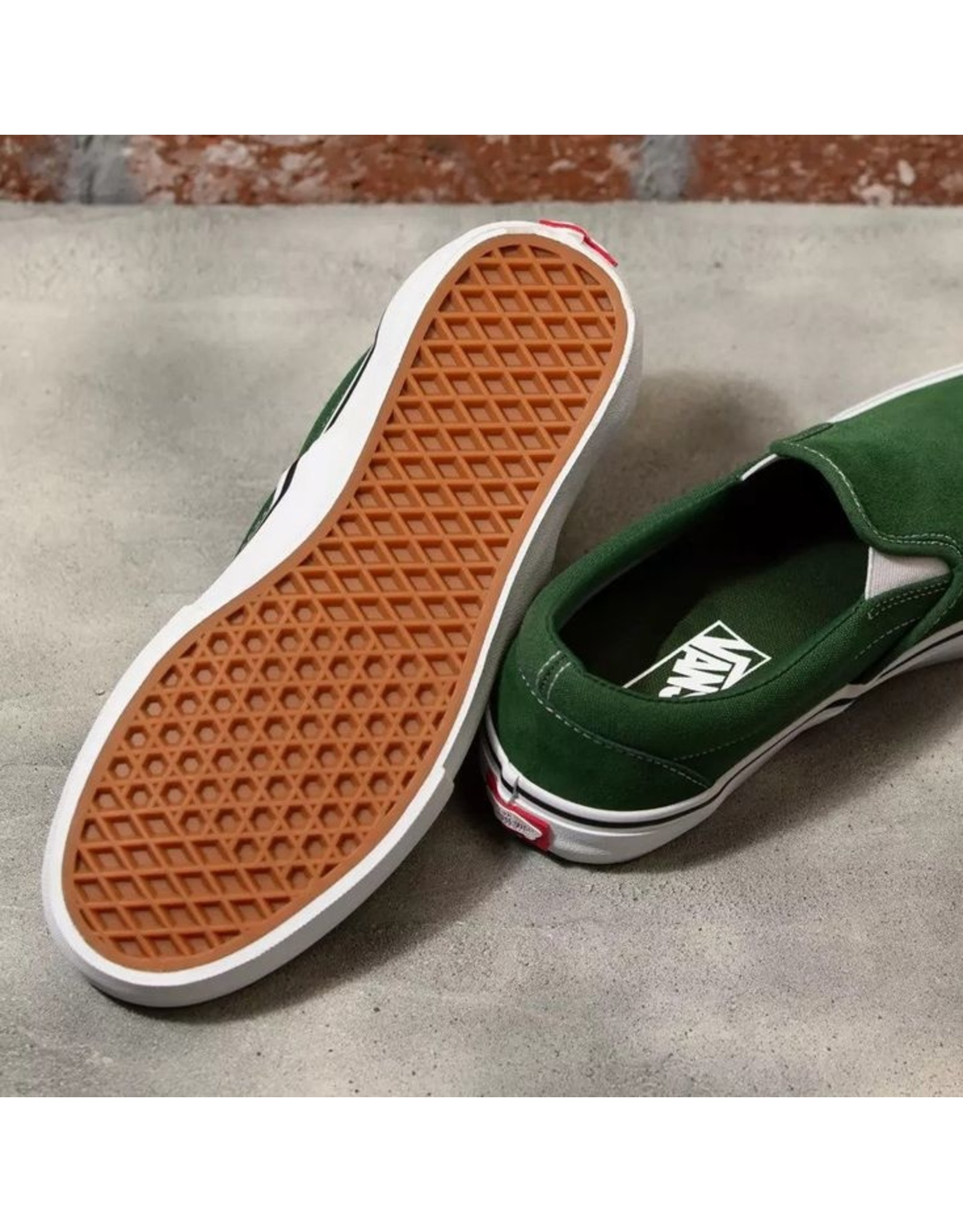 VANS VANS - SLIP-ON PRO - ALPINE/WHITE