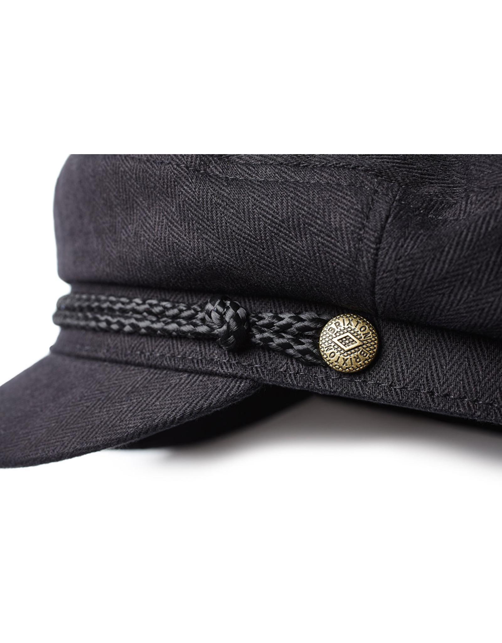BRIXTON BRIXTON - FIDDLER CAP - BLACK -