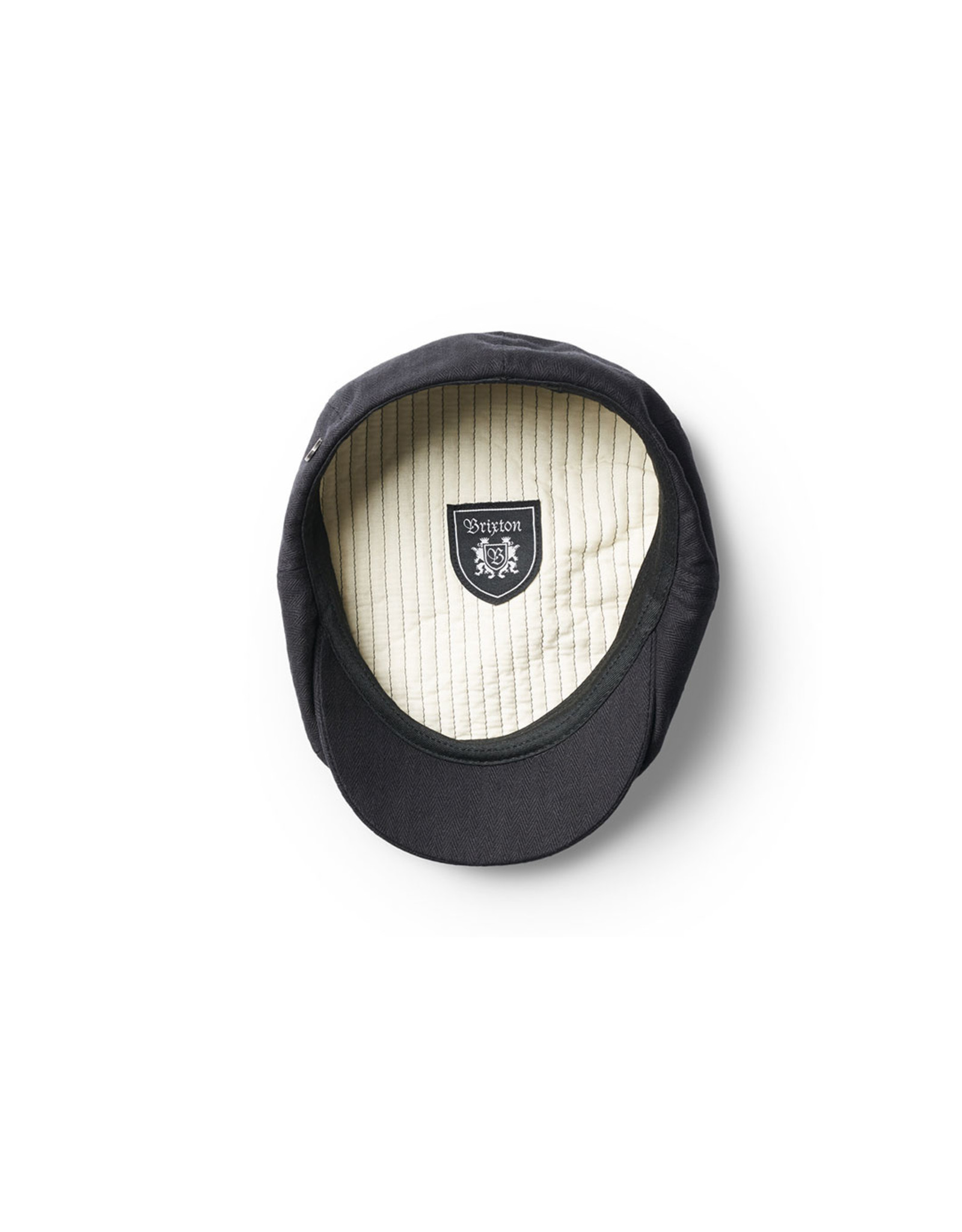 BRIXTON BRIXTON - BROOD SNAP CAP - BLACK -