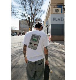 BOARDERLINE - GAMEBOY TEE - WHT -
