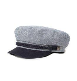 BRIXTON BRIXTON - FIDDLER CAP - NAVY/OFF WHT -