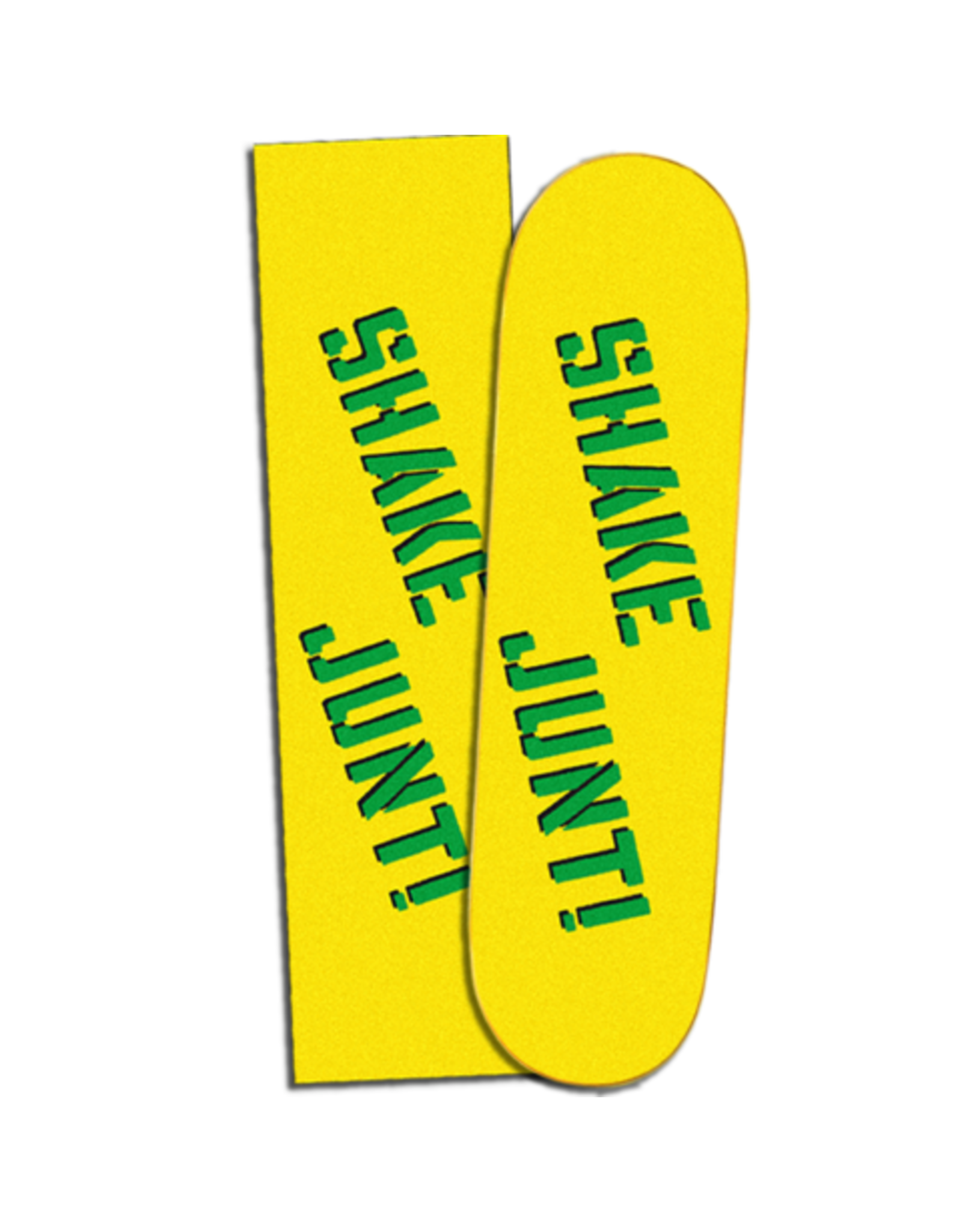 SHAKE JUNT SHAKE JUNT - YELLOW/GREEN GRIP - 9""