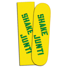 "SHAKE JUNT GRIPTAPE SHAKE JUNT - YELLOW/BLK GRIP - 9"""