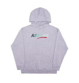 ALLTIMERS ALLTIMERS - BIG FADER HOODIE - GRY -