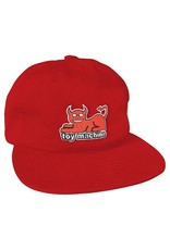 TOY MACHINE TOY MACHINE - DEVIL CAT HAT - RED