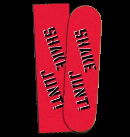 "SHAKE JUNT GRIPTAPE SHAKE JUNT - RED/BLACK GRIP - 9"""