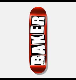 BAKER BAKER - BRAND LOGO - 8.25 - RED FOIL