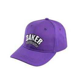 BAKER BAKER - ARCH VELCRO CLOSURE HAT - PURP.