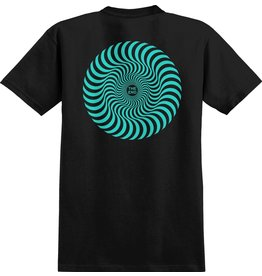 SPITFIRE SPITFIRE - CLASSIC SWIRL - BLK/TEAL -