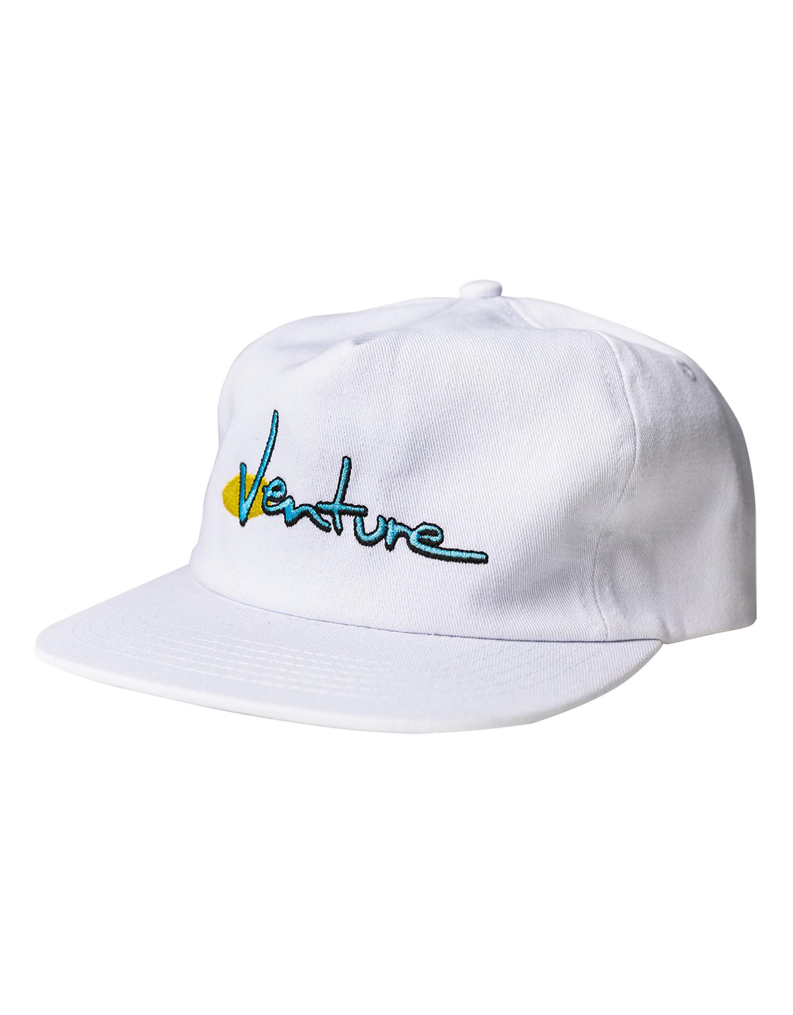 VENTURE VENTURE - 90'S SNAPBACK - WHITE