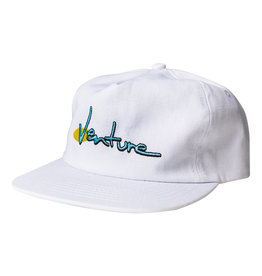 VENTURE VENTURE - 90'S SNAPBACK - WHT