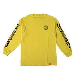 SPITFIRE SPITFIRE - CLASSIC SWIRL SLEEVE L/S - YLLW/BLK -