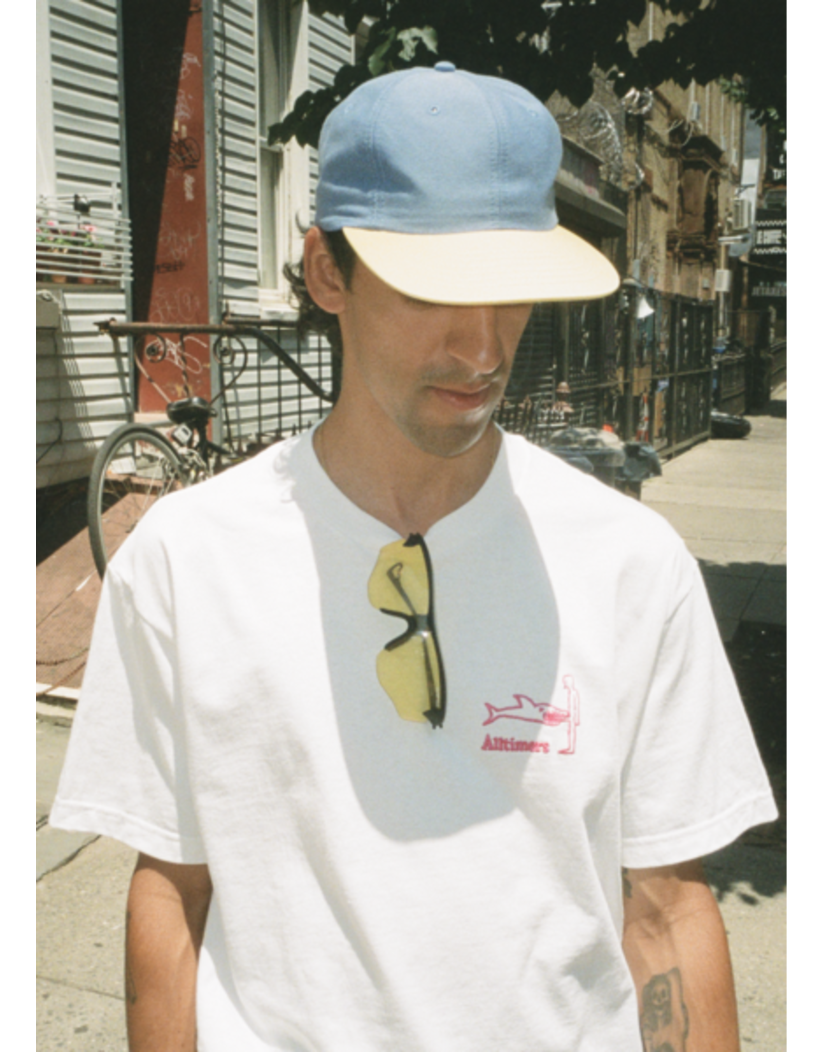 ALLTIMERS ALLTIMERS - BROADWAY HAT - FRENCH BLUE