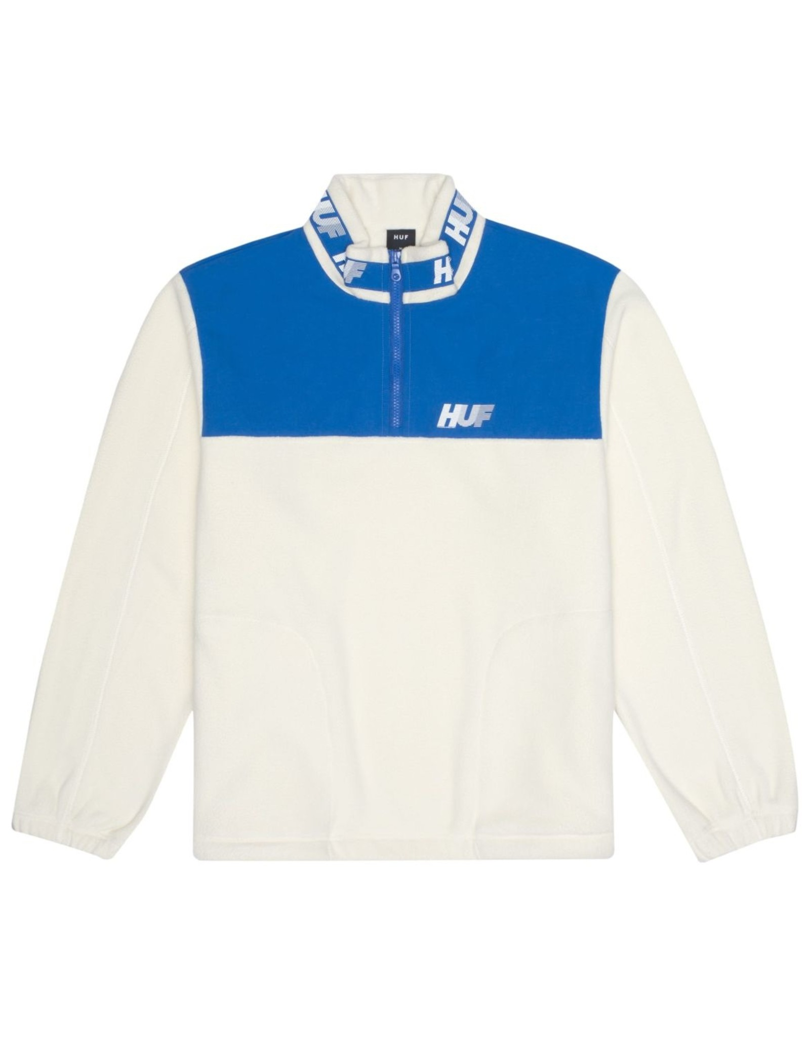 HUF HUF - MOUNTAIN 10K 1/4 ZIP - White/blue