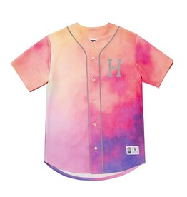 HUF HUF - CLASSIC H REFL JERSEY - CORAL - L