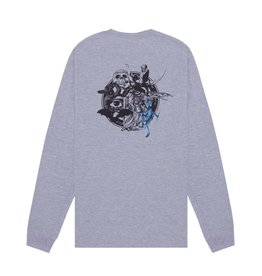 HOCKEY HOCKEY - WITCH CRAFT L/S - GREY -