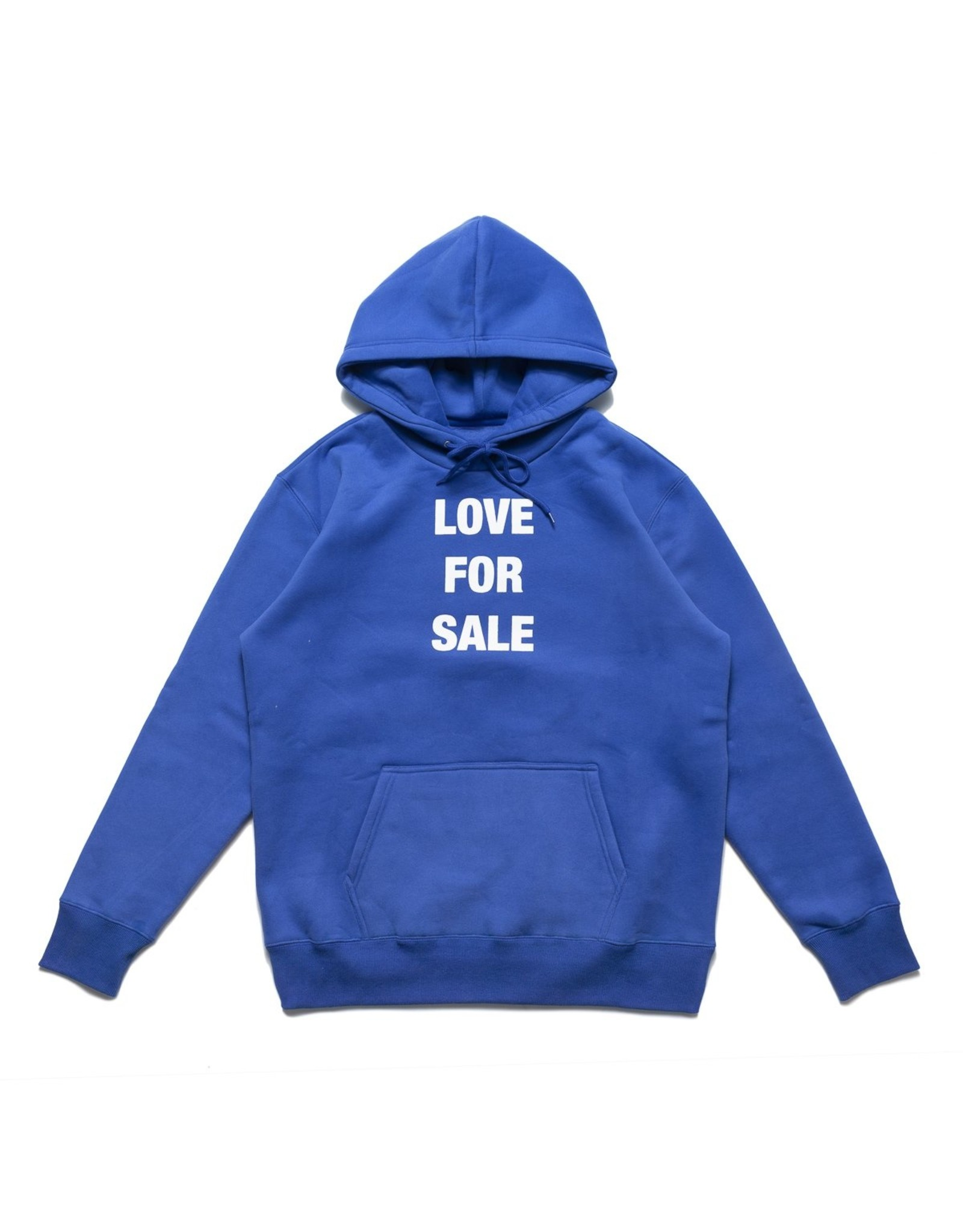 CHRYSTIE CHRYSTIE - LOVE FOR SALE HOODIE - BLUE - L