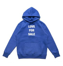 CHRYSTIE CHRYSTIE - LOVE FOR SALE HODIE - BLU - L