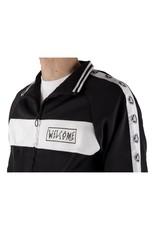 WELCOME WELCOME - TALISMAN TRACK JACKET - BLACK/WHITE - M