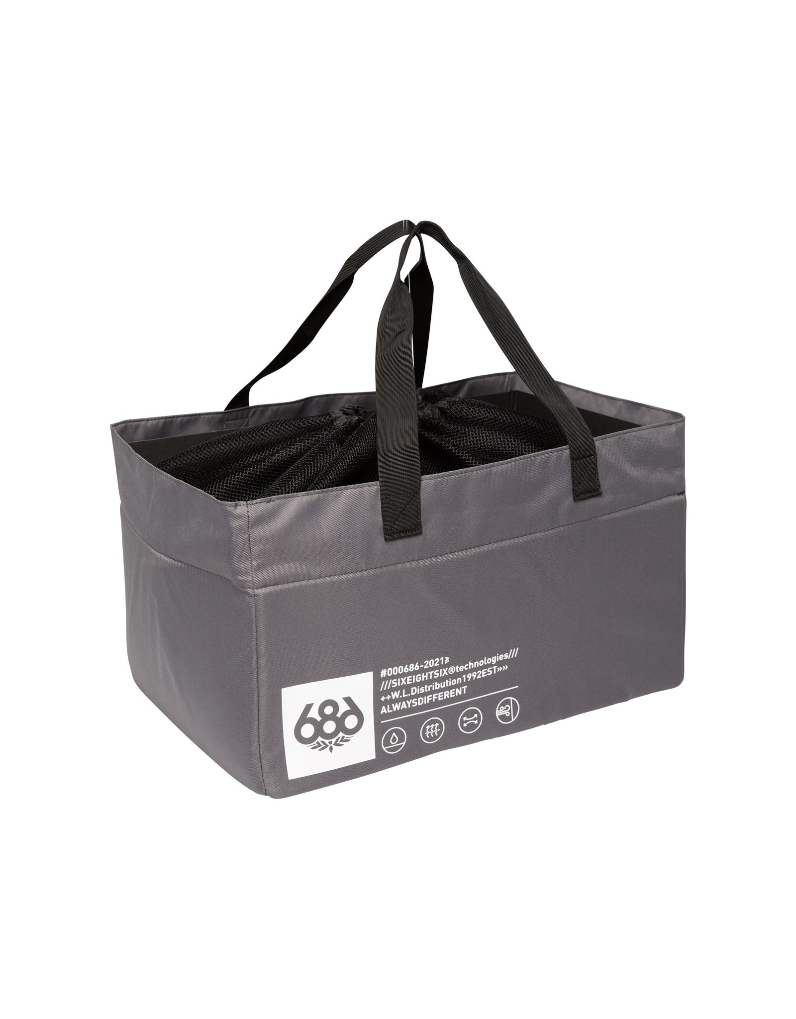 686 686 - STORAGE GEAR BAG - CHaRCOAL