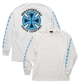 INDEPENDENT INDEPENDENT - BAUHAUS CROSS L/S - WHT -