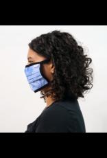 COAL HEADWEAR COAL - FACEMASK 3-PACK - TIE DYE - SMALL