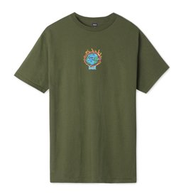 HUF HUF - SICK SAD WORLD S/S - OLIVE -