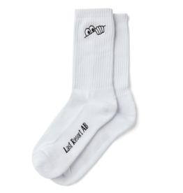LAST RESORT AB LAST RESORT AB - EYES SOCK - WHT -