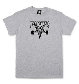 THRASHER THRASHER - SKATE GOAT S/S - GREY -