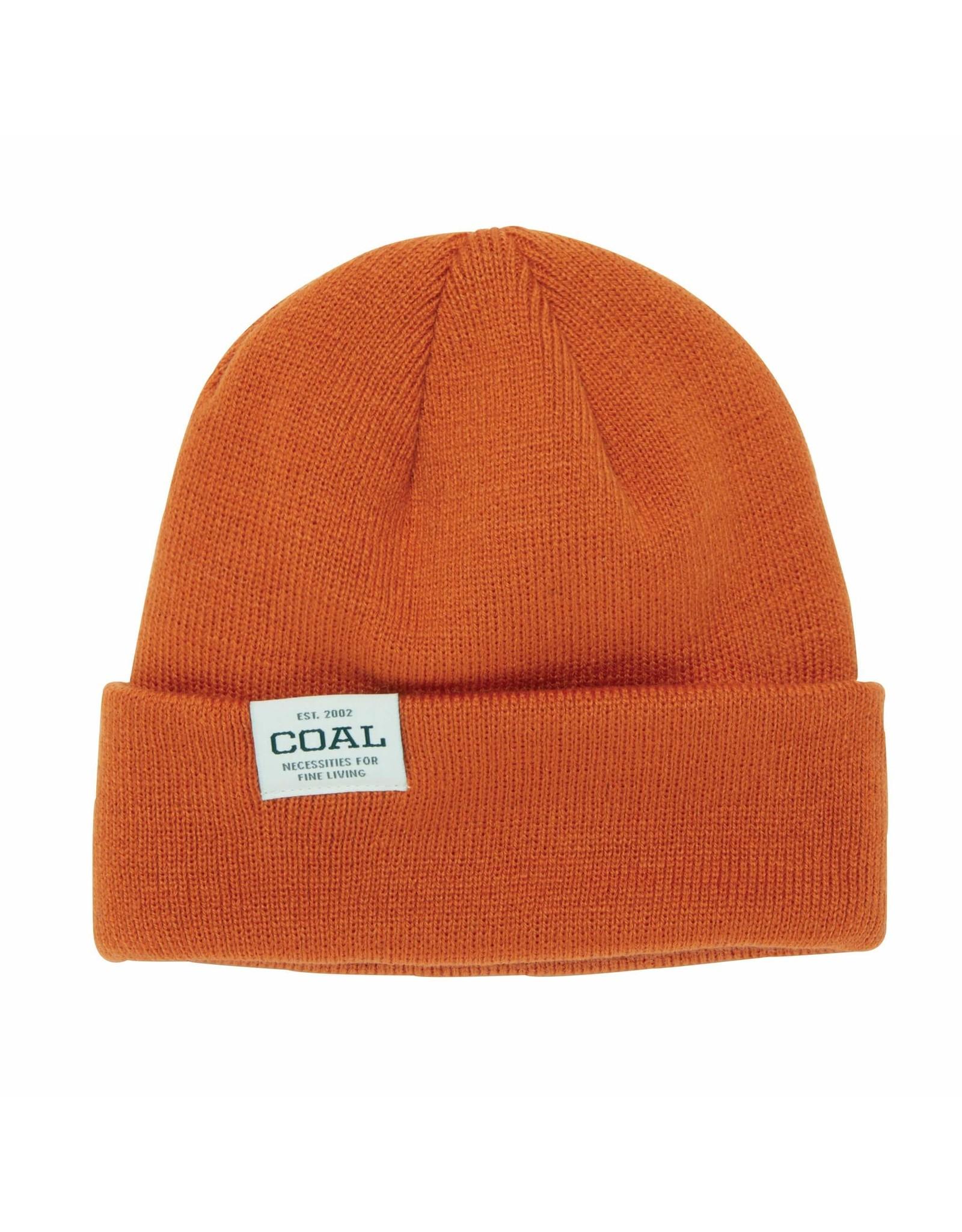 COAL HEADWEAR COAL - UNIFORM LOW BEANIE - ORANGE