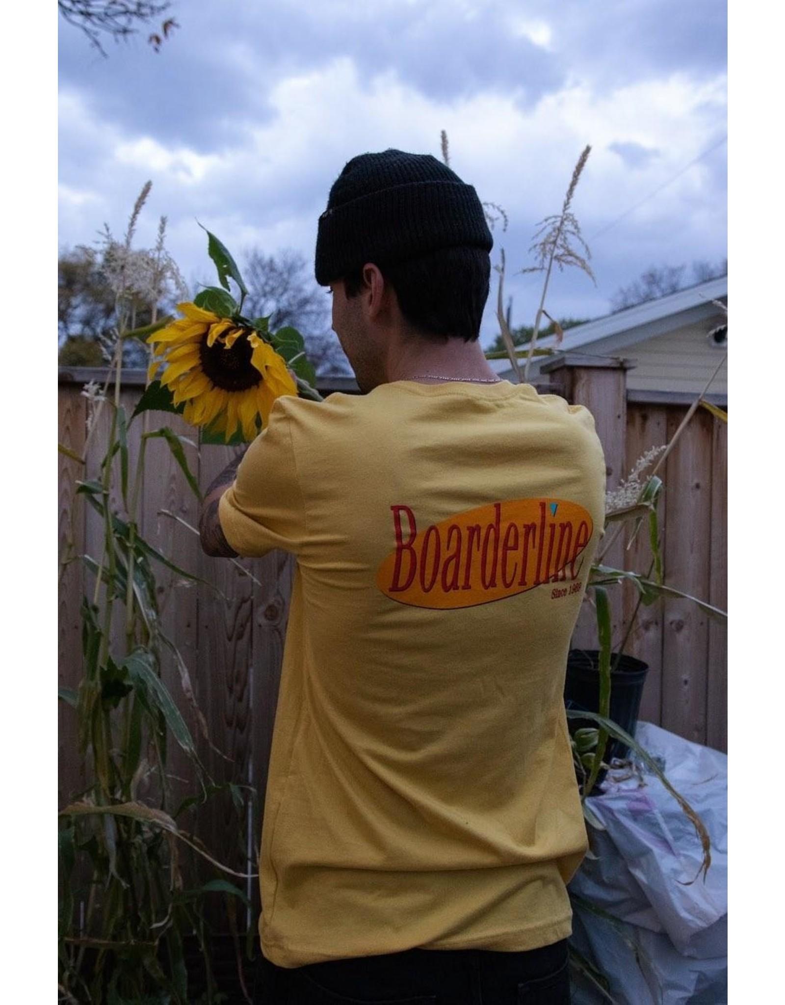 BOARDERLINE - SEINFELD TEE - YELLOW -