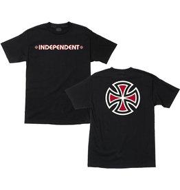INDEPENDENT INDEPENDENT - BAR CROSS S/S - BLK -