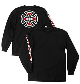 INDEPENDENT INDEPENDENT - BAR/CROSS L/S - BLK -