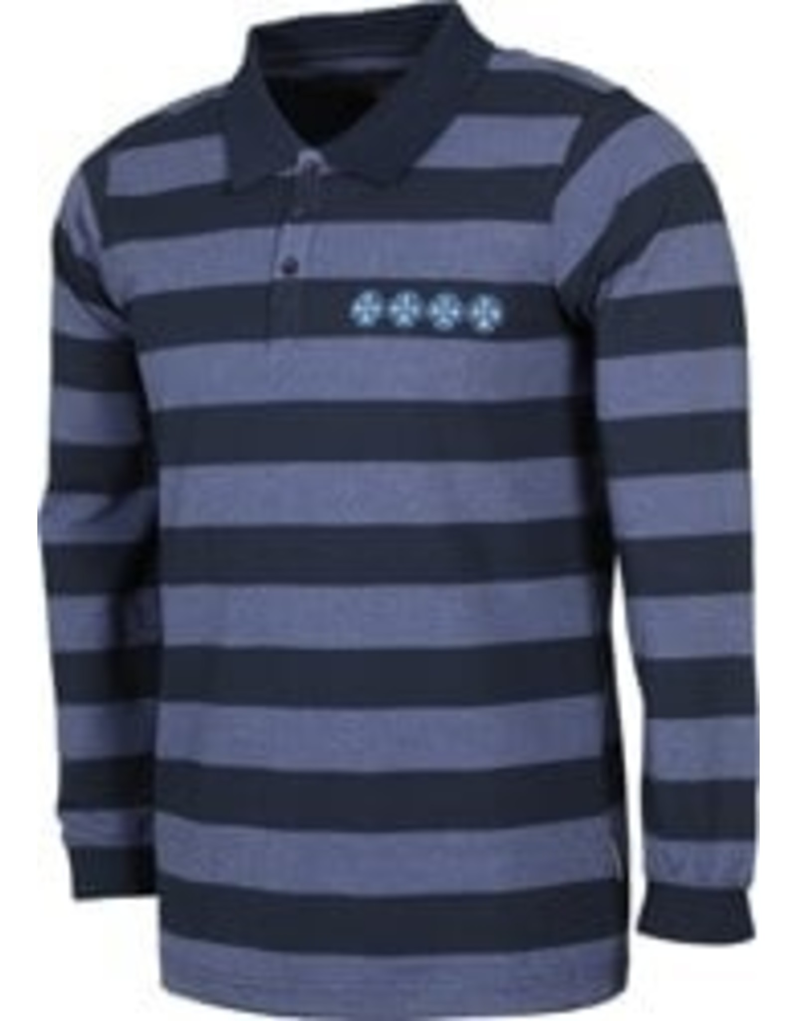INDEPENDENT INDEPENDENT - BAR CROSS L/S POLO CHAIN - NVY -