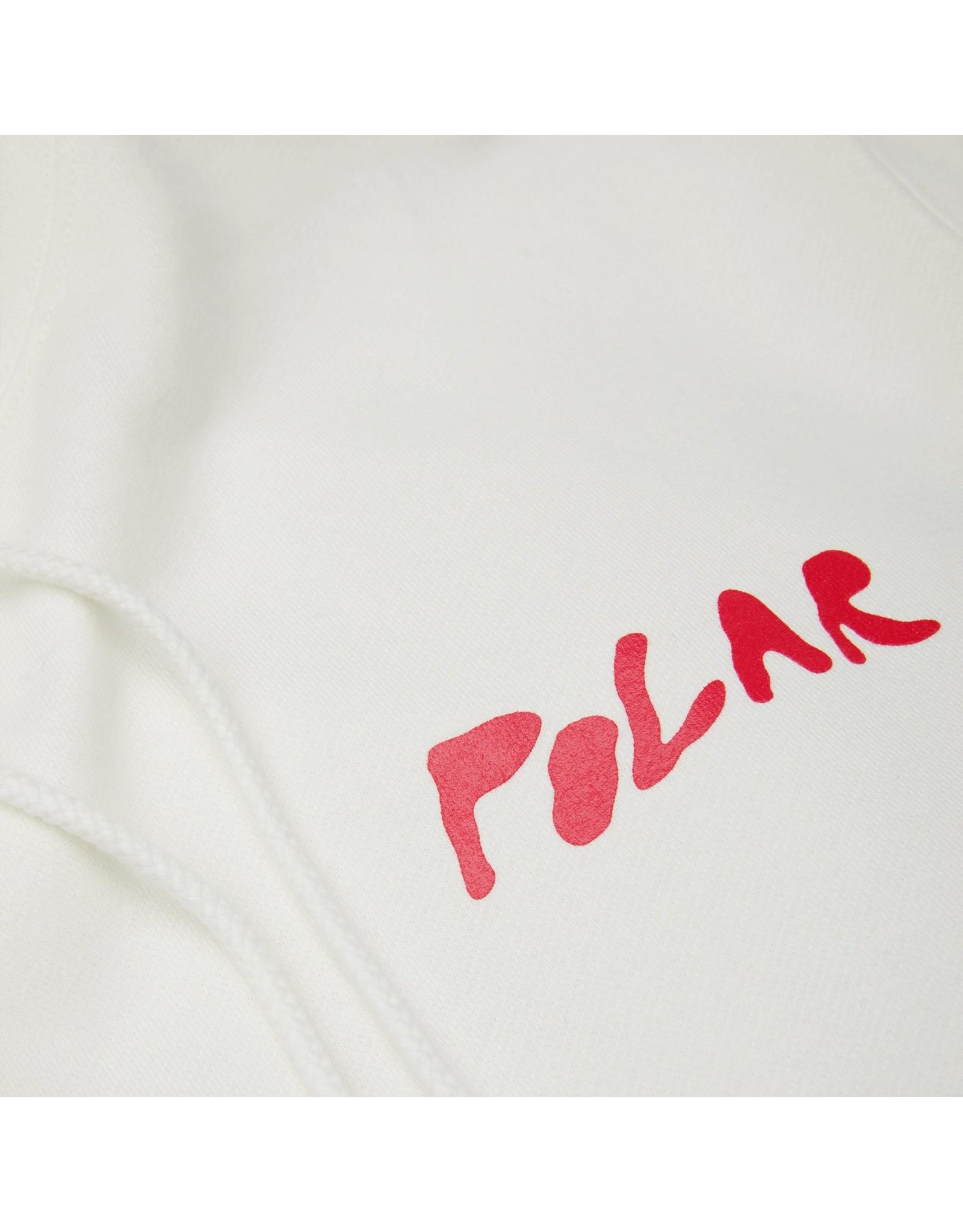 POLAR POLAR - ELVIRA HOODIE - WHITE - XL