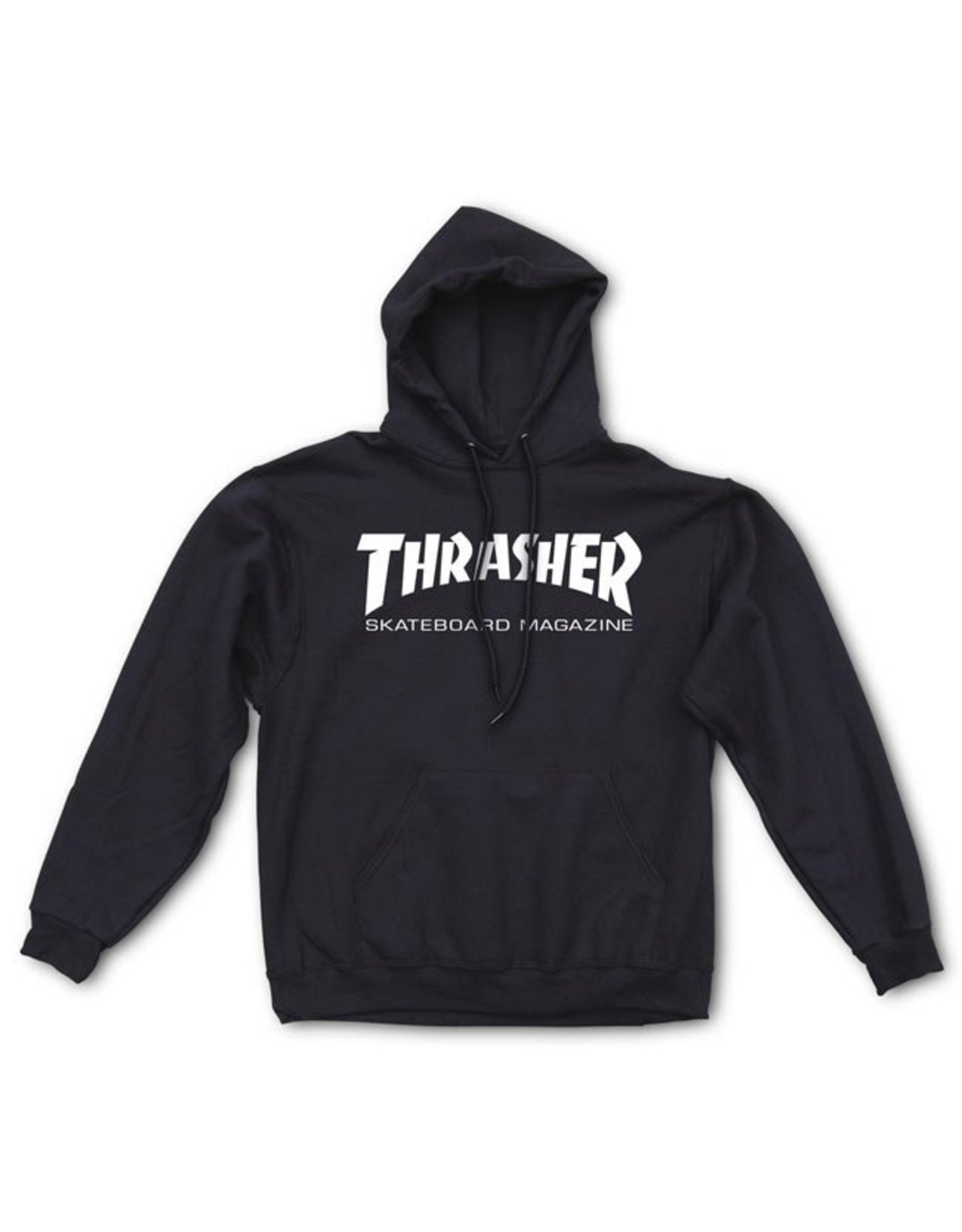 THRASHER THRASHER - SKATE MAG HOODIE - BLACK -