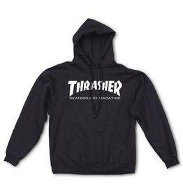 THRASHER THRASHER - SKATE MAG HOODIE - BLK -