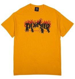 THRASHER THRASHER - CROW S/S - GOLD