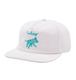 HOCKEY HOCKEY - DOG 6-PANEL HAT - TEAL/WHT