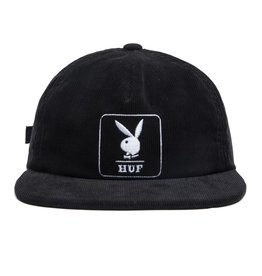 HUF HUF - PLAYBOY CORD. 5 PANEL - BLK
