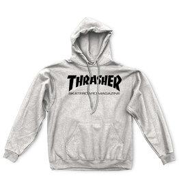 THRASHER THRASHER - SKATE MAG HOODIE - GREY -