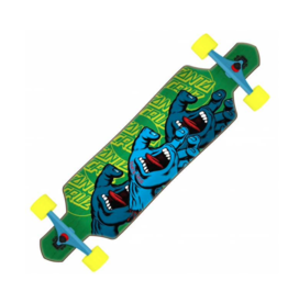 SANTA CRUZ SANTA CRUZ - DROP THRU SCREAMING HAND - 9 X 36
