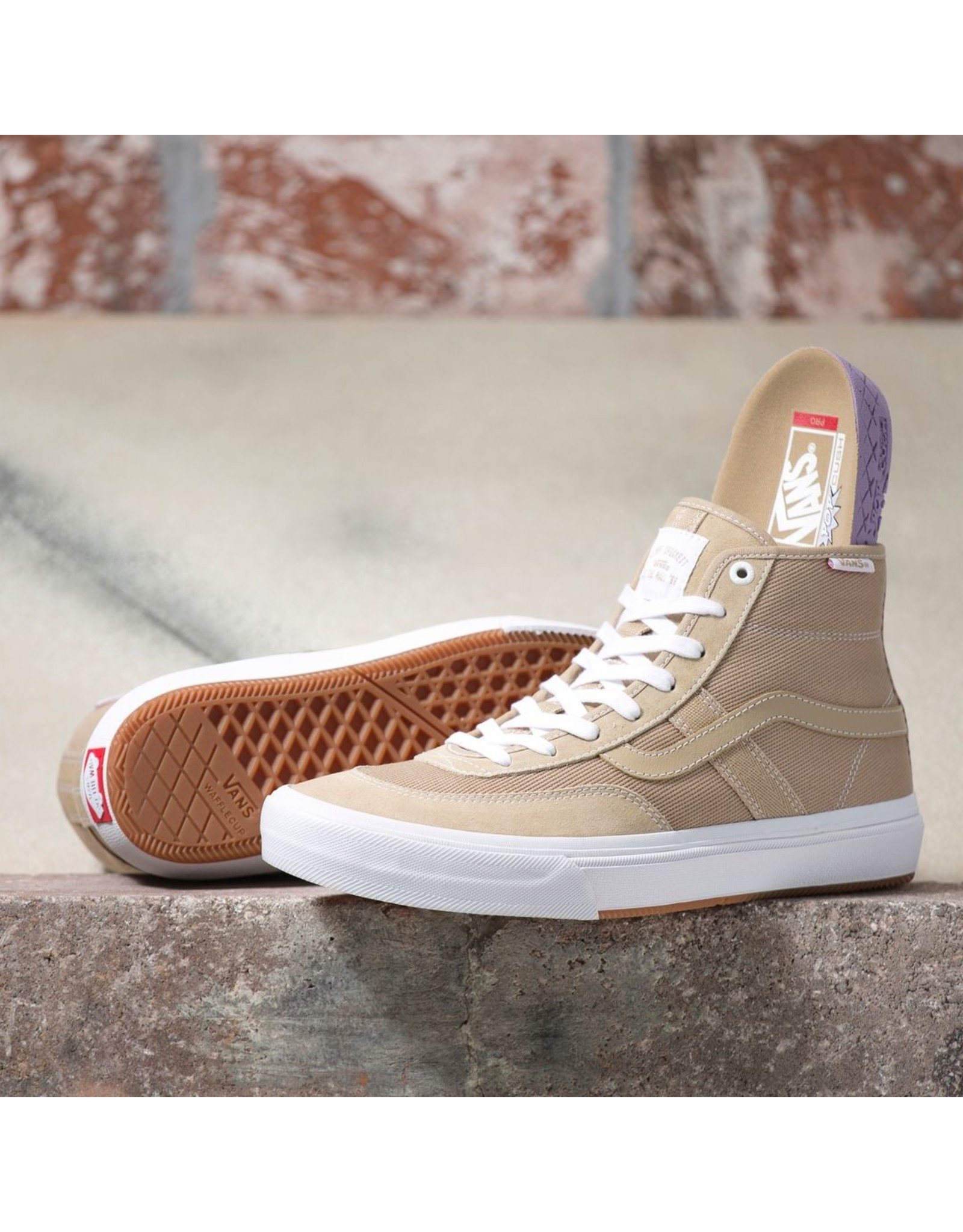 VANS VANS - CROCKETT PRO HI - INCEN/WHITE