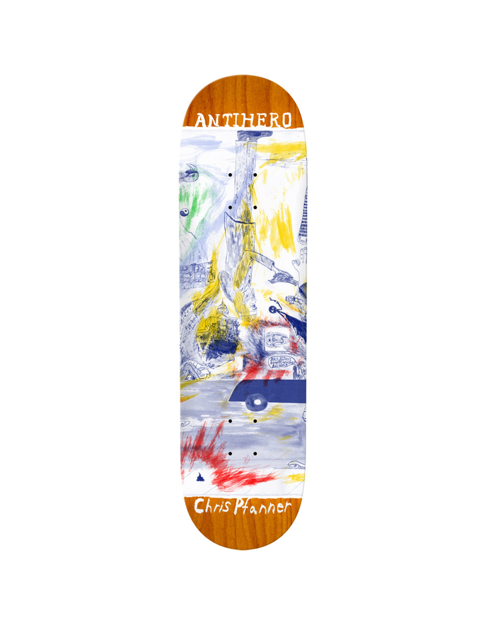 ANTIHERO ANTIHERO - THEN & NOW - 8.06 - PFANNER