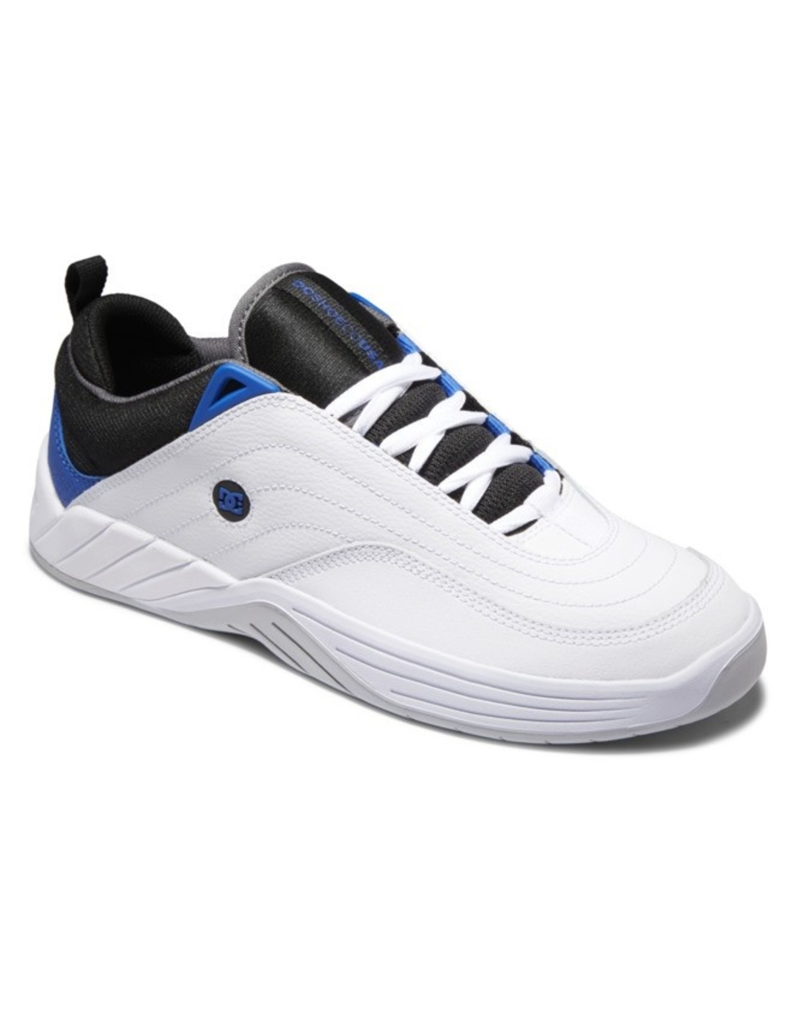 DC SHOES CO. DC - WILLIAMS SLIM - WHITE/BLACK/BLUE