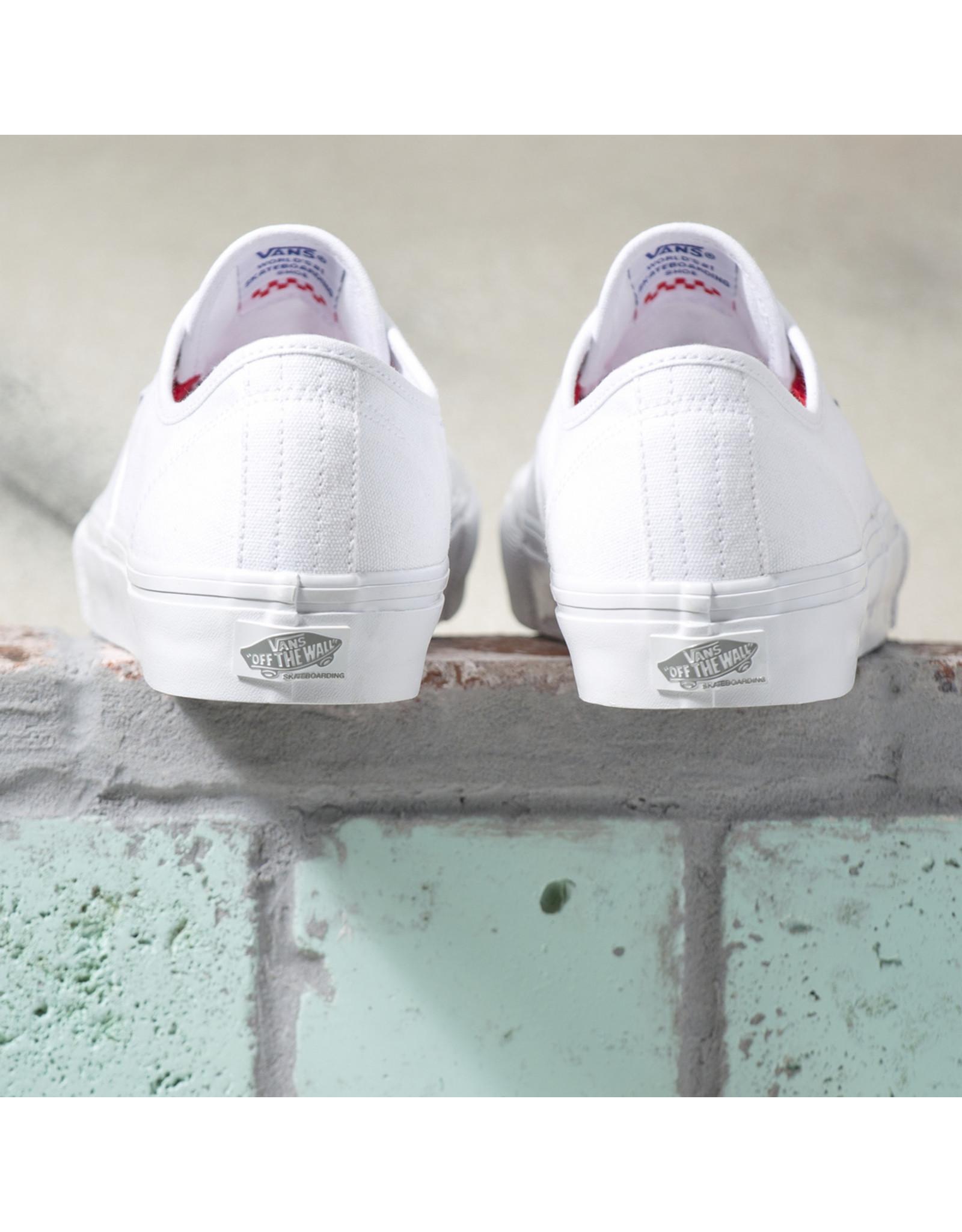 VANS SKATE SHOES VANS - AUTHENTIC SKATE - WHITE