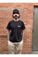 BOARDERLINE - SHOP LOGO S/S - BLACK -
