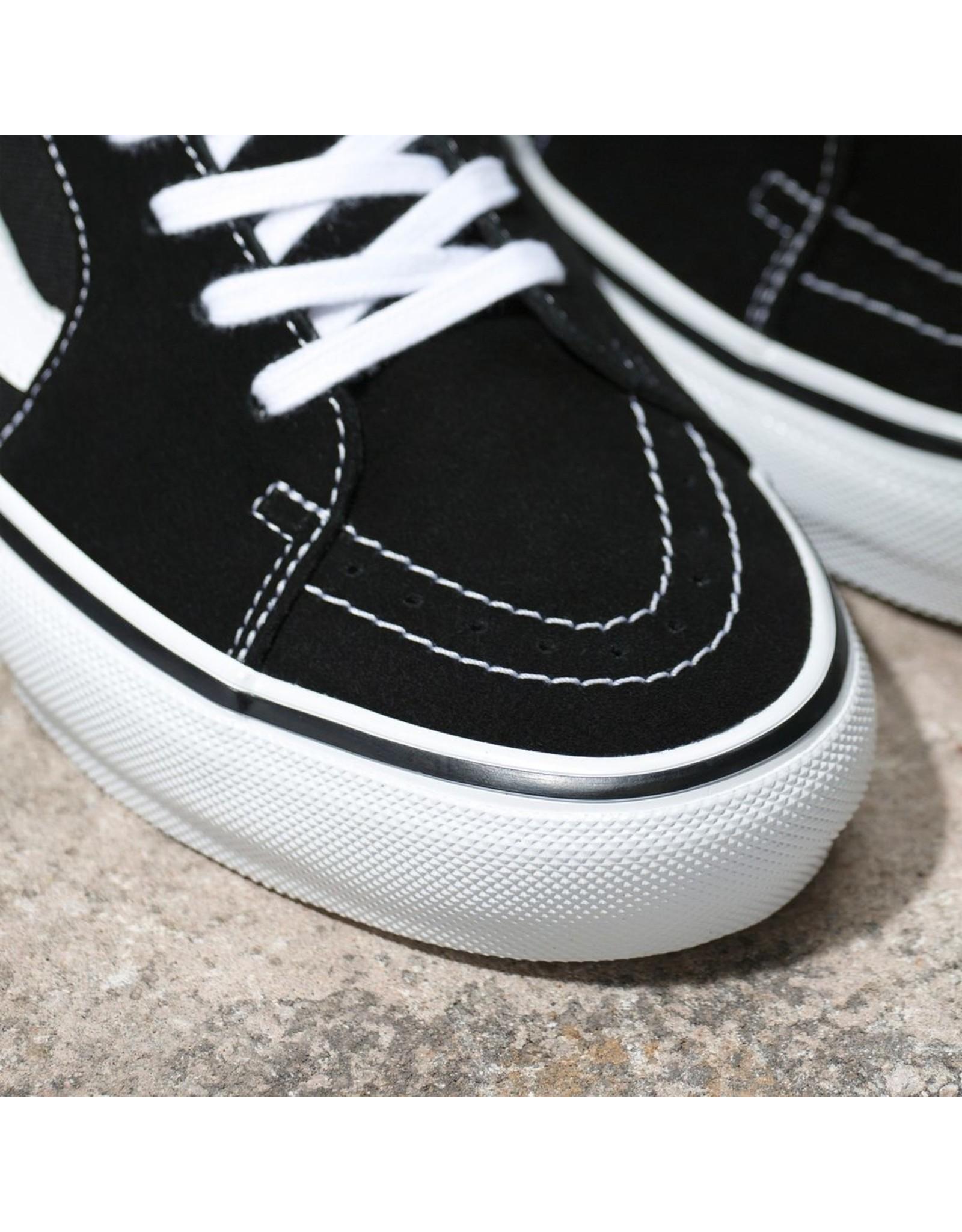 VANS VANS - SK8-LOW SKATE - BLACK/WHITE-
